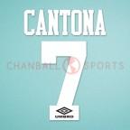 Manchester United 1992-1996 Cantona #7 Homekit Nameset Printing