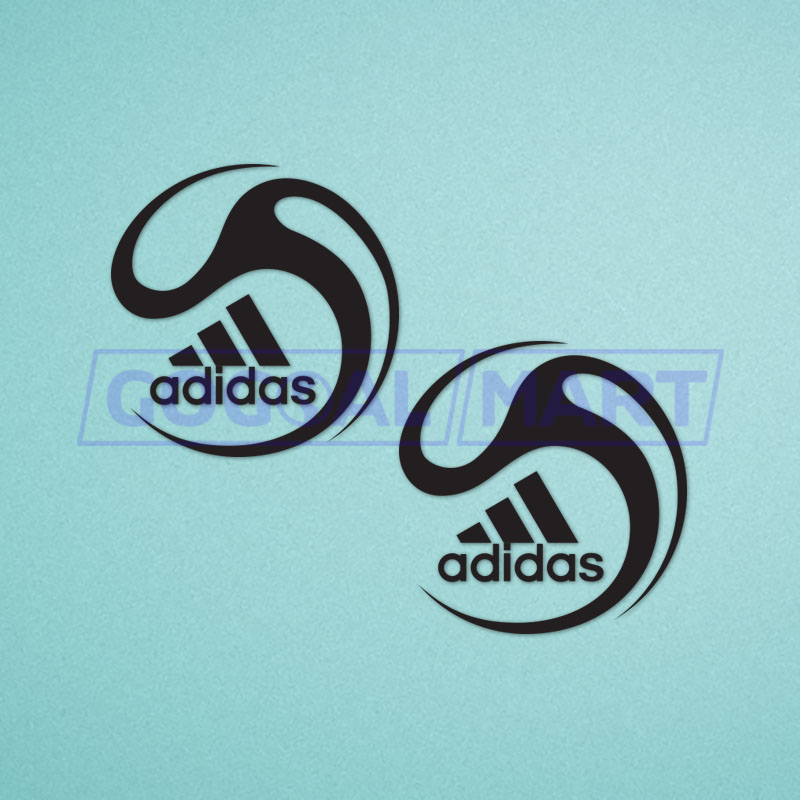 FIFA World Cup 2008 and Euro Cup Friendly Black Color Sleeve Soccer Patch / Badge