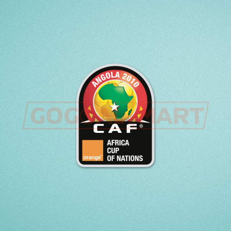 Africa Cup of Nations 2010 Soccer Patch / Badge