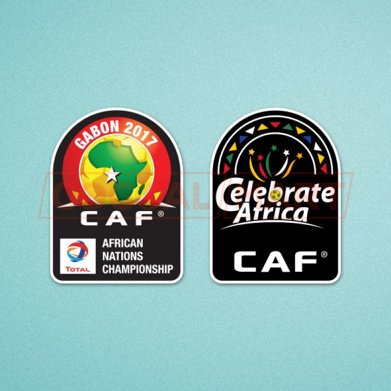 Africa Cup of Nations 2017 & Celebrate Africa CAF Soccer Patch / Badge
