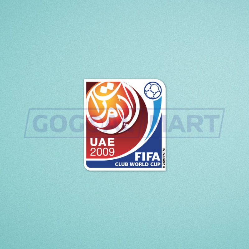 FIFA Club World Cup Japan 2009 Sleeve Soccer Patch / Badge
