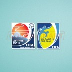 FIFA Club World Cup Japan 2011 + Fair Play Sleeve Soccer Patch / Badge