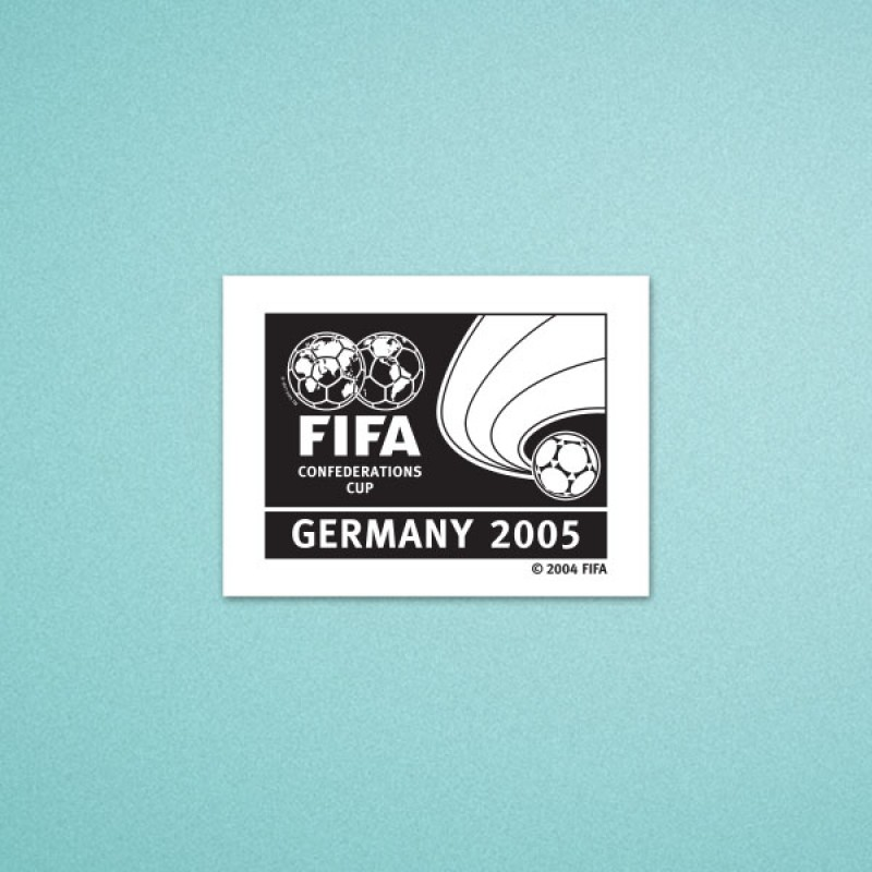 FIFA Confederations Cup Germany 2005 Soccer Patch / Badge