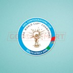FIFA Confederations Cup South Africa 2009 - Italy Team Soccer Patch / Badge