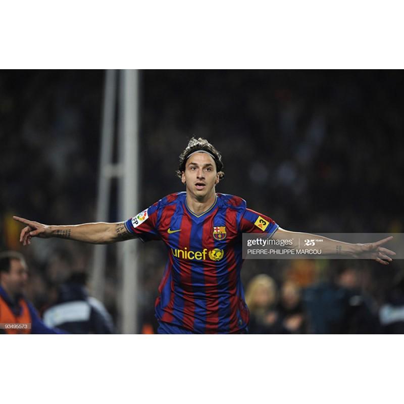 Barcelona 2008-2010 Ibrahimovic #9 Homekit Nameset Printing