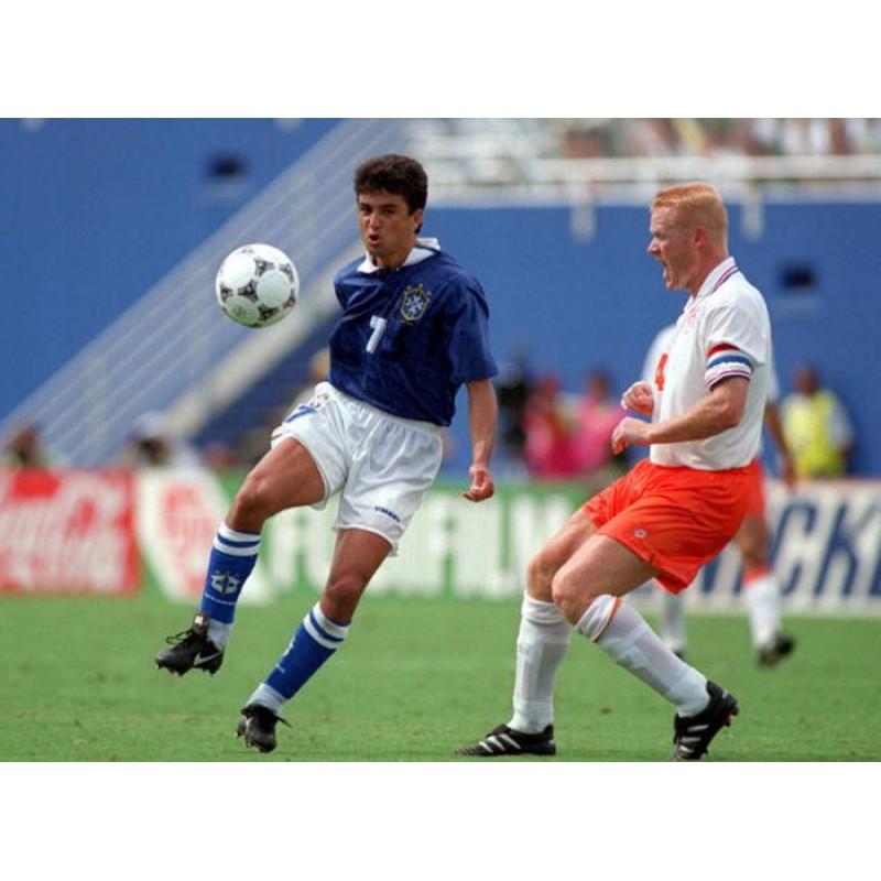 Brazil 1994 Bebeto #7 World Cup Awaykit Nameset Printing