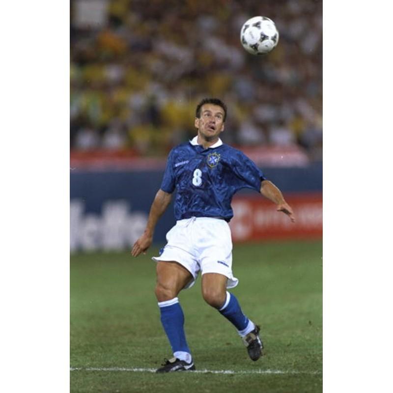 Brazil 1994 Dunga #8 World Cup Awaykit Nameset Printing