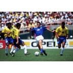 Brazil 1994 Dunga #8 World Cup Homekit Nameset Printing