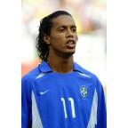 Brazil 2002 Ronaldinho #11 World Cup Awaykit Nameset Printing