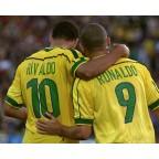 Brazil 1998 Ronaldo #9 World Cup Homekit Nameset Printing