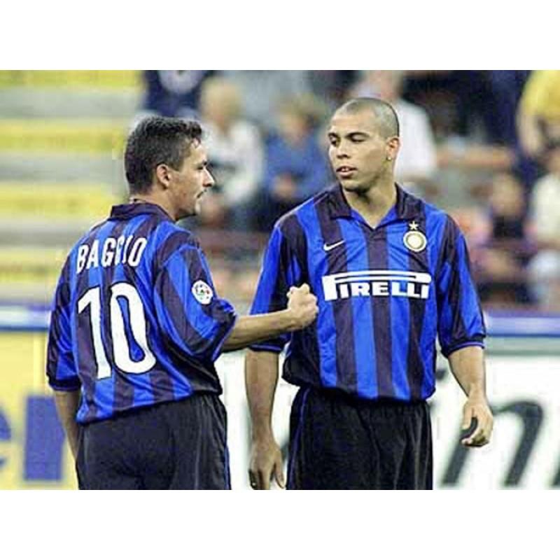 Inter Milan 98//99 #10 BAGGIO Awaykit Nameset Printing