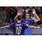 Italy 2006 Totti #10 World Cup Homekit Nameset Printing