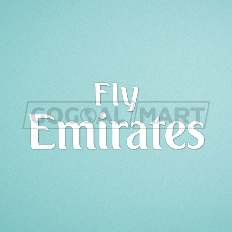 Real Madrid 2014-2017 Fly Emirate (League Version) Soccer Sponsor