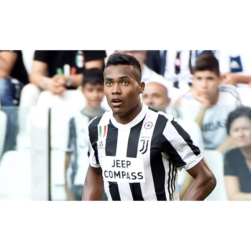 Juventus 2017-2018 JEEP COMPASS Soccer Sponsor