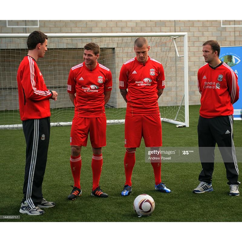 Liverpool 2016-2017 Seeing is believing Soccer Sponsor